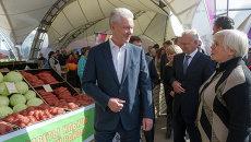 Мэр Москвы посетил региональную ярмарку Рязанской области в Юго-Восточном округе Москвы