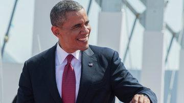 Президент Соединенных Штатов Америки Барак Обама. Архивное фото