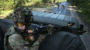 Военные учения Rapid Trident во Львовской области, архивное фото