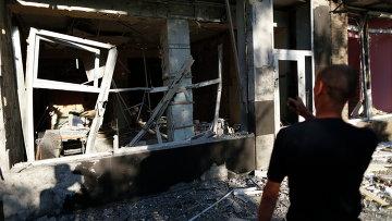 После артобстрела в Макеевке. Архивное фото