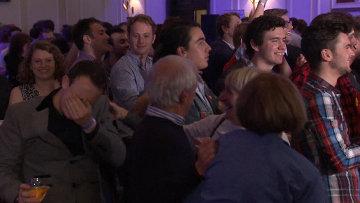 Противники независимости Шотландии плакали от радости после референдума