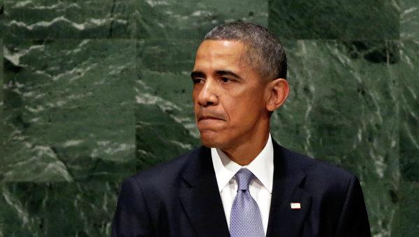 Барак Обама на трибуне ГА ООН, Архивное фото