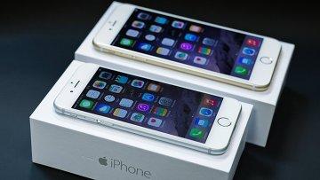 Новый смартфон iPhone 6 и iPhone 6 Plus. Архивное фото