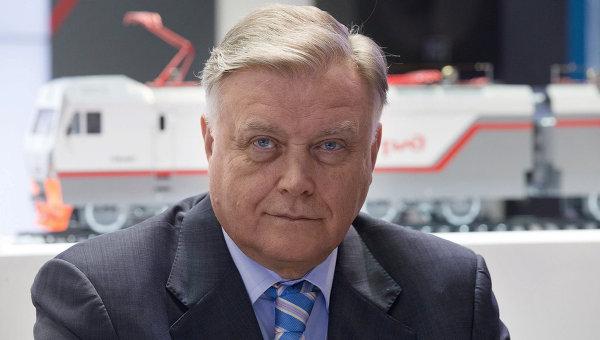 Президент ОАО Российские железные дороги Владимир Якунин