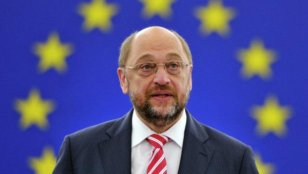 Председатель Европарламента Мартин Шульц, архивное фото