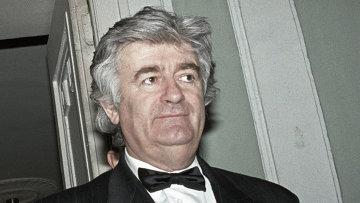 Радован Караджич.. Архивное фото