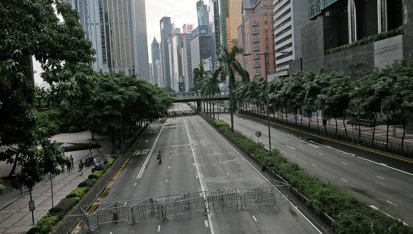 Улица Гонконга, архивное фото