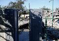 Результаты обстрела Донецка украинскими военными