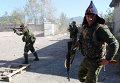 Бои в районе аэропорта города Донецка