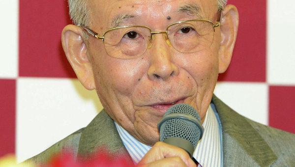 Японский ученый Исаму Акасаки, удостоенный Нобелевской премии