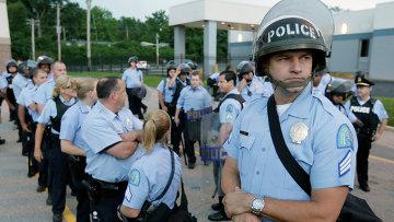 Полиция Сант-Луиса, США