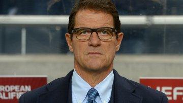 Главный тренер сборной России по футболу Фабио Капелло. Архивное фото