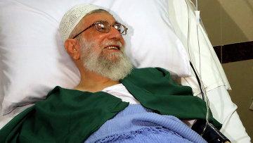Иранский духовный лидер Али Хаменеи в больнице. Архивное фото