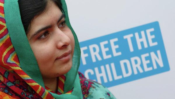 Нобелевская премия мира за 2014 год присуждена 17-летней пакистанской правозащитнице Малале Юсафзай