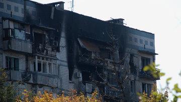 Ситуация в районе аэропорта Донецка