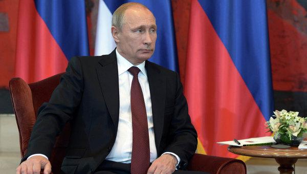 16 октября 2014. Президент России Владимир Путин. Архивное фото