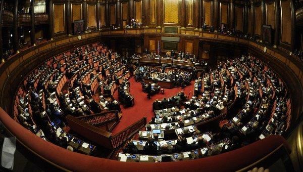 Заседание парламента Италии в Риме. Архивное фото