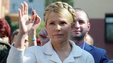 Лидер партии Батькивщина Юлия Тимошенко, архивное фото