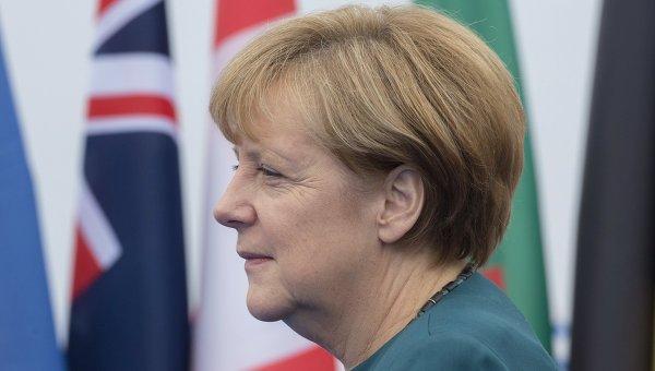 Федеральный канцлер Германии Ангела Меркель. Архивное фото.