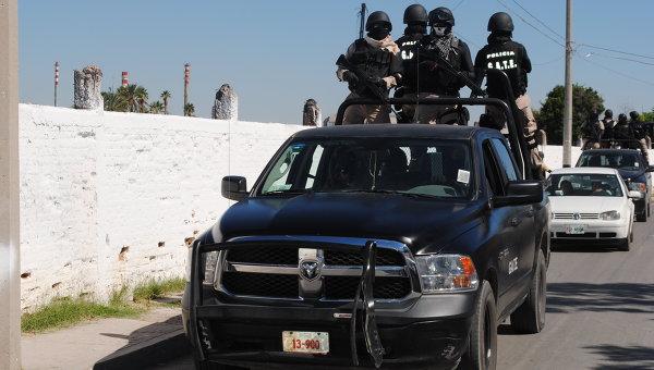 Спецназ мексиканской полиции. Архивное фото