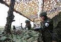 Российские военнослужащие Южного военного округа