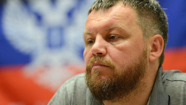 Первый вице-премьер Донецкой народной республики Андрей Пургин. Архивное фото