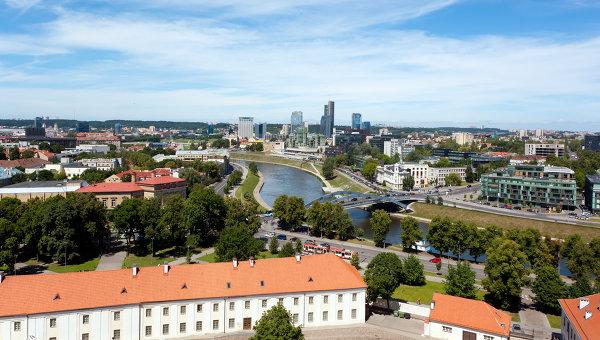 Вид Вильнюса. Архивное фото