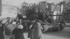 Освобождение Киева от немецко-фашистских захватчиков. Съемки 1943 года