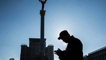 Украина, Киев. Архивное фото