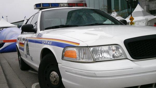Канадская полицейская машина
