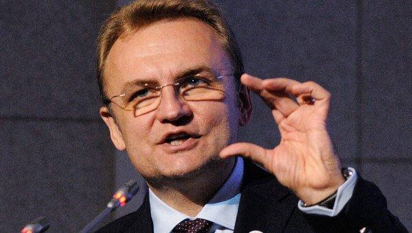 Украинский политический деятель Андрей Садовый. Архивное фото