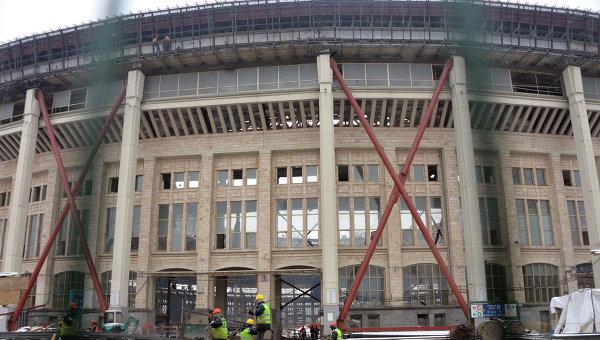Реконструкция стадиона Лужники в Москве