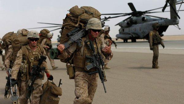 Американские морские пехотинцы в Афганистане