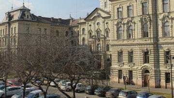 Венгрия. Виды города Дьора