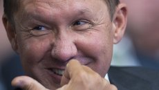 Председатель правления ОАО Газпром Алексей Миллер. Архивное фолто