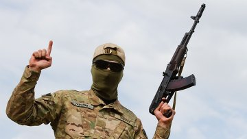Боец батальона Айдар, Архивное фото