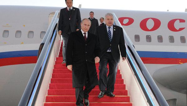 Официальный визит ВладимираПутина в Китайскую Народную Республику 9 ноября 2014
