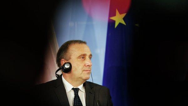Глава МИД Польши Гжегож Схетына. Архивное фото.