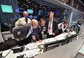 Команда миссии Rosetta контролирует приземление на ядро кометы Чурюмова-Герасименко. Германия, 12 ноября 2014