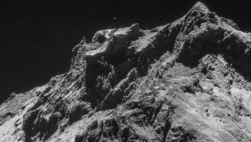 Фотография кометы Чурюмова-Герасименко, сделанная космическим аппаратом Розетта (Rosetta). 23 октября 2014
