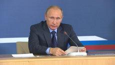 Путин объяснил, зачем нужен судостроительный комплекс в Приморье
