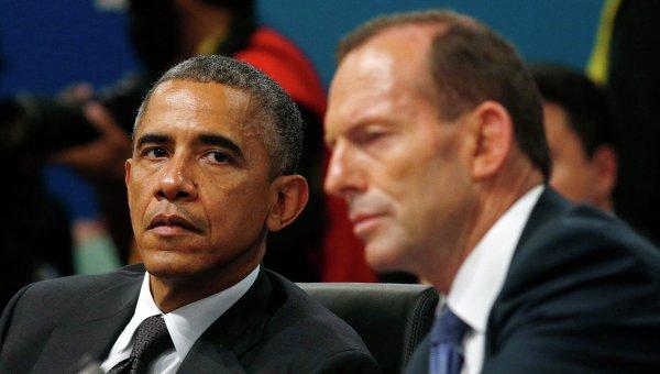 Президент США Барак Обама на саммите G20 в Брисбене