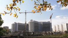 Строительство детской больницы в районе Ховрино. Архивное фото