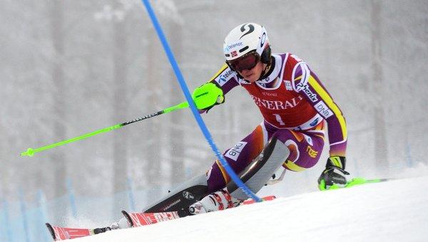 Кубок мира по горнолыжному спорту. Норвежец Хенрик Кристофферсен