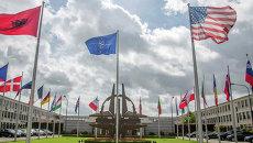 Здание штаб-квартиры НАТО в Брюсселе. Архивное фото