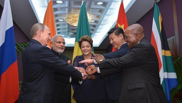 Лидеры стран-членов БРИКС на саммите Группы двадцати. Архивное фото