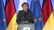 Меркель признала, что безопасность в Европе можно обеспечить только с РФ