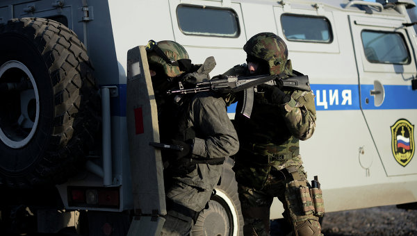 Спецназ в Дагестане. Архивное фото