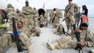 Американские военные, прибывшие из афганского города Кандагар. Архивное фото.