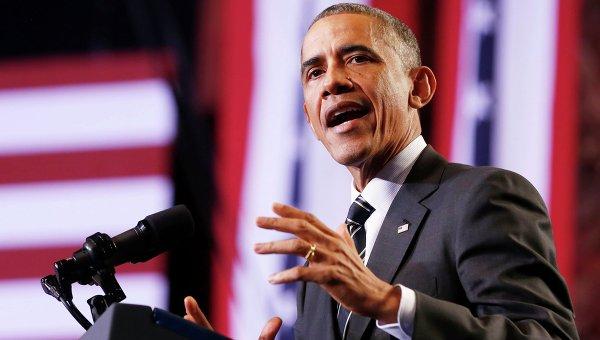 Обама снова оговорился на пресс-конференции